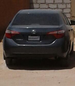 السيارة التي استعملت العصابة للسطو على الشرطيين