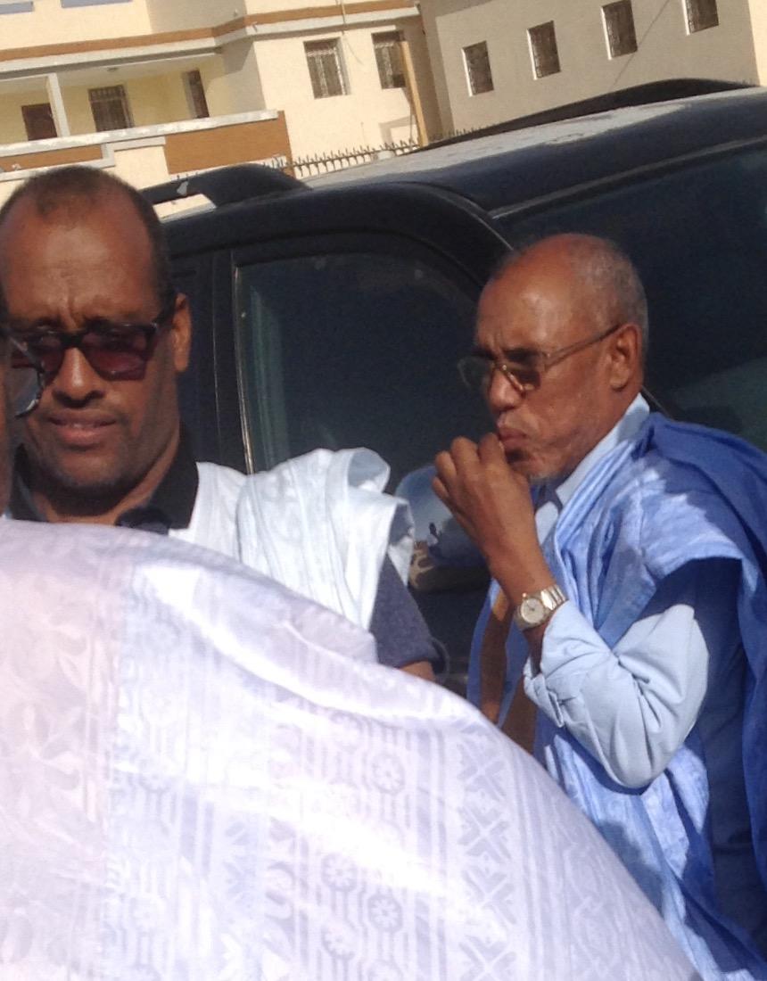 رجلي الأعمال: سيدي ولد محمد ولد المختار، ومحمدفال ولد الخراشي